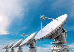 satellite dish, radio and TV broadcasters are always rely on C-Band spectrum for video and audio.