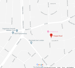aerialbase office location on google map